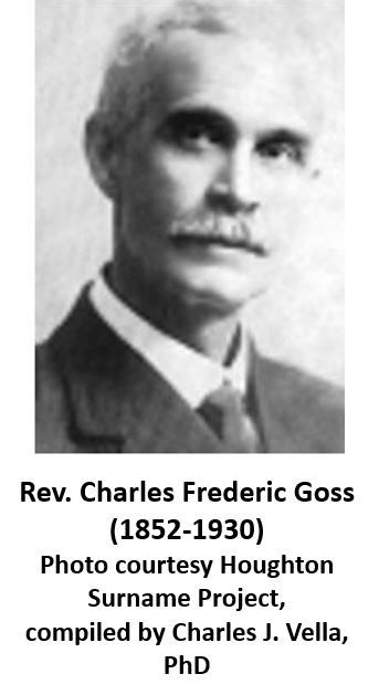 Charles Frederic Goss caption