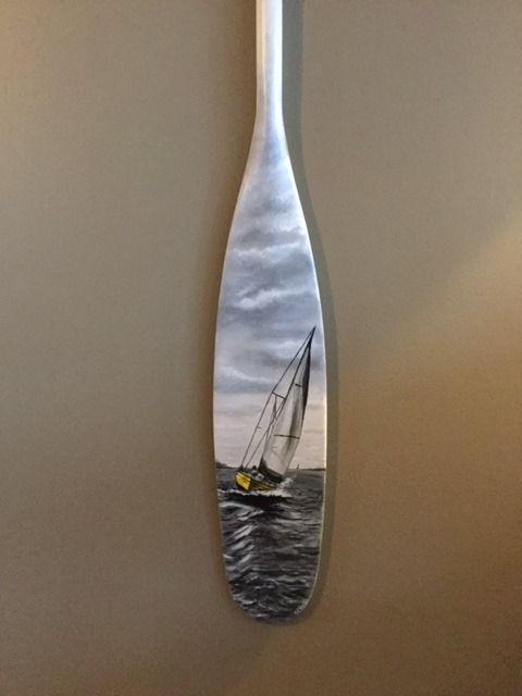 Clarke Paddle Sailboat