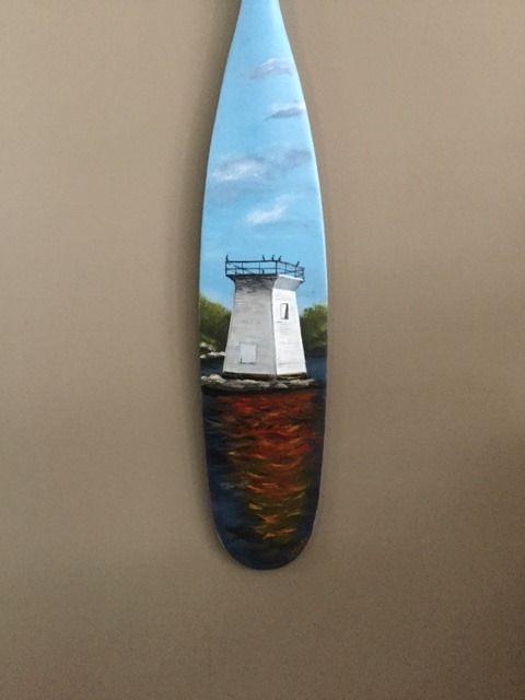Clarke Paddle lighthouse