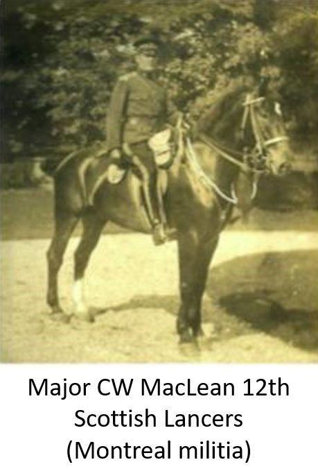 Major CW MacLean