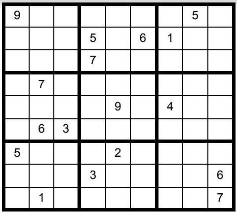 Sudoku Puzzle #45