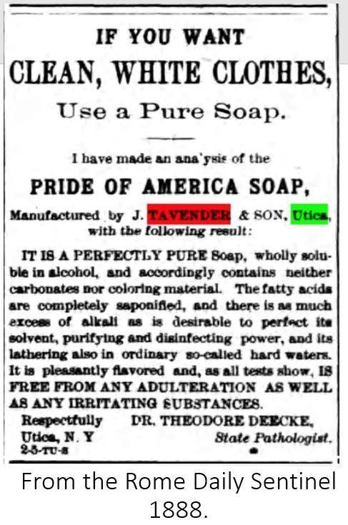 Tavender Soap