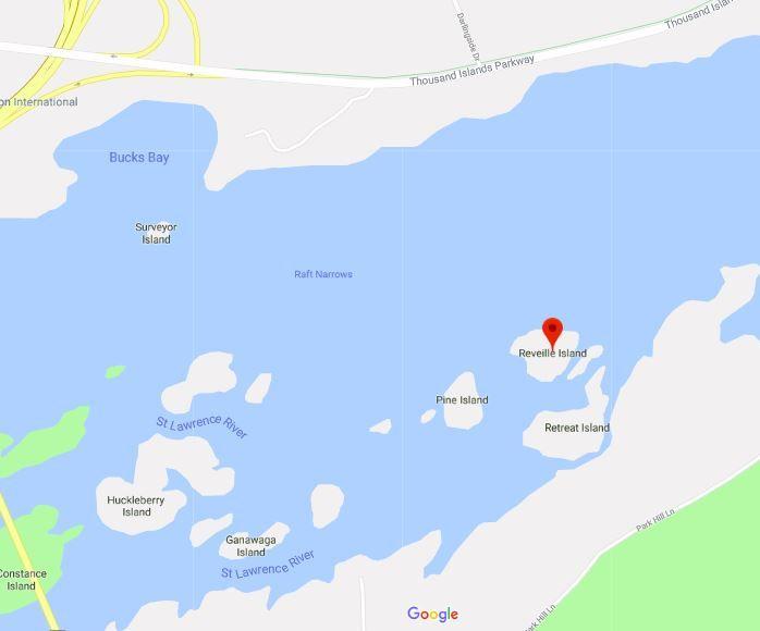 Map Reveille Island
