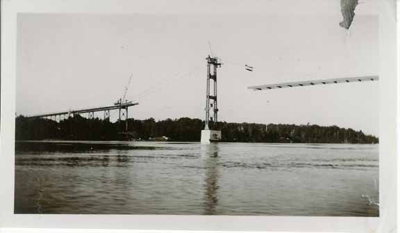 Installation main span